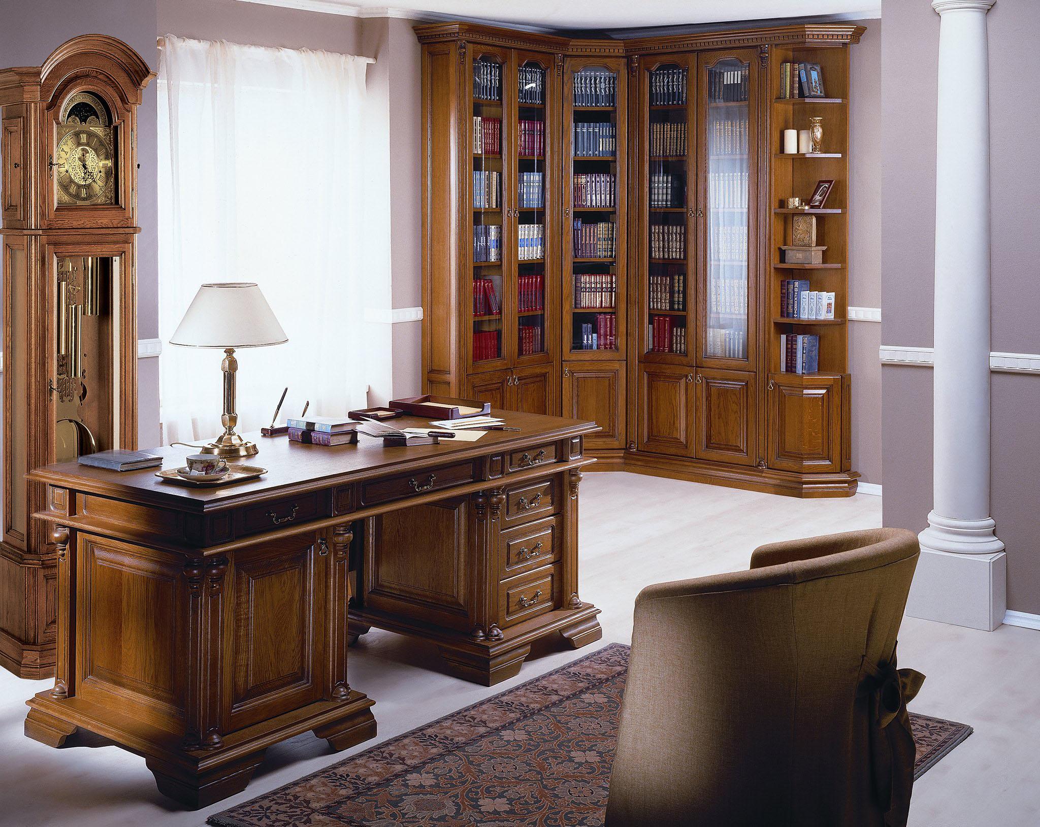 Библиотека угловая для кабинета - купить в интернет-магазине.